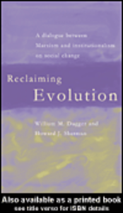 Ebook in inglese Reclaiming Evolution Dugger, William M. , Sherman, Howard J.