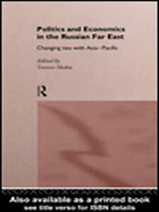 Ebook in inglese Politics and Economics in the Russian Far East