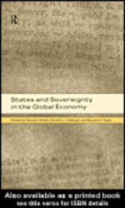 Ebook in inglese States and Sovereignty in the Global Economy