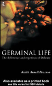 Ebook in inglese Germinal Life Pearson, Keith Ansell