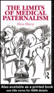 Ebook in inglese The Limits of Medical Paternalism Häyry, Heta