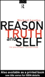 Ebook in inglese Reason, Truth and Self Luntley, Michael