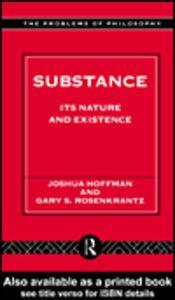 Ebook in inglese Substance Hoffman, Joshua , Rosenkrantz, Gary