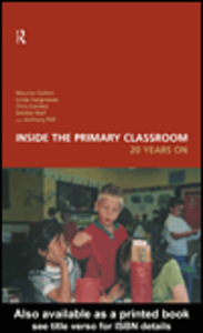 Ebook in inglese Inside the Primary Classroom Comber, Chris , Galton, Maurice , Hargreaves, Linda , Wall, Debbie