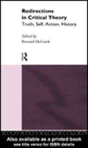 Ebook in inglese Redirections in Critical Theory McGuirk, Bernard