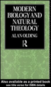Ebook in inglese Modern Biology and Natural Theology Olding, Alan