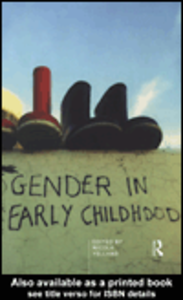 Ebook in inglese Gender in Early Childhood