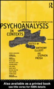 Ebook in inglese Psychoanalysis in Context
