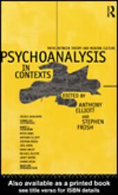 Psychoanalysis in Context