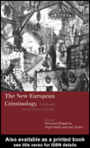 Ebook in inglese The New European Criminology