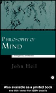 Ebook in inglese Philosophy of Mind Heil, John