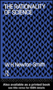 Ebook in inglese The Rationality of Science Newton-Smith, W.H.