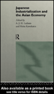 Ebook in inglese Japanese Industrialization and the Asian Economy