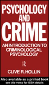 Ebook in inglese Psychology and Crime Hollin, Clive R.