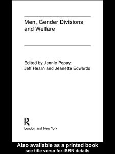 Ebook in inglese Men, Gender Divisions and Welfare