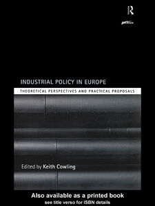 Ebook in inglese Industrial Policy in Europe