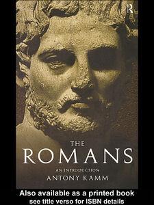 Ebook in inglese The Romans Kamm, Antony