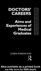 Ebook in inglese Doctors' Careers Parkhouse, James