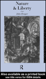 Ebook in inglese Nature and Liberty Zvesper, John