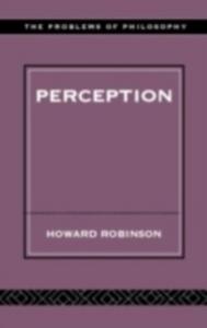 Ebook in inglese Perception Robinson, Howard