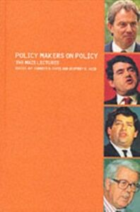 Ebook in inglese Policy Makers on Policy, Second Edition -, -