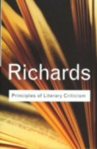 Ebook in inglese Principles of Literary Criticism Richards, I.A.
