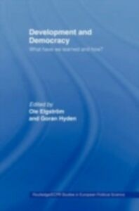 Ebook in inglese Development and Democracy -, -