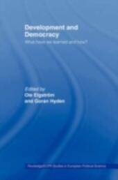 Development and Democracy