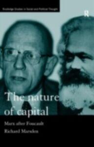 Foto Cover di Nature of Capital, Ebook inglese di Richard Marsden, edito da Taylor and Francis