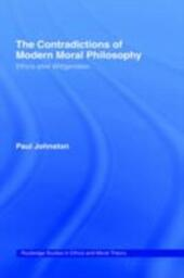Contradictions of Modern Moral Philosophy