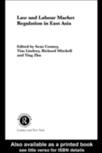 Ebook in inglese Law and Labour Market Regulation in South East Asia -, -