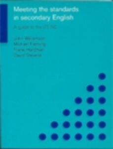 Foto Cover di Meeting the Standards in Secondary English, Ebook inglese di AA.VV edito da Taylor and Francis