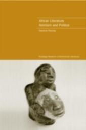 African Literature, Animism and Politics
