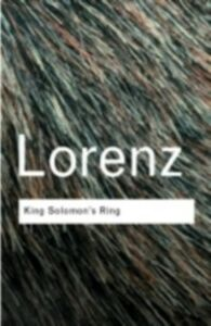 Ebook in inglese King Solomon's Ring Lorenz, Konrad