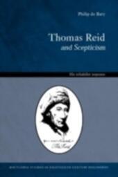 Thomas Reid and Scepticism