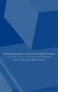 Ebook in inglese Resolving Disagreement in Special Educational Needs Gersch, Adam , Nfa, Adam Gersch