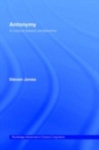 Ebook in inglese Antonymy Jones, Steven