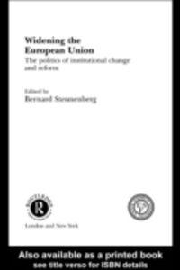 Ebook in inglese Widening the European Union -, -