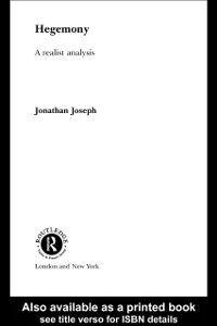 Ebook in inglese Hegemony Joseph, Jonathan