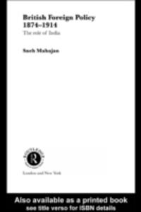 Ebook in inglese British Foreign Policy 1874-1914 Mahajan, Sneh
