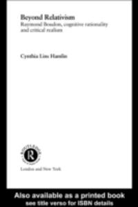 Ebook in inglese Beyond Relativism Hamlin, Cynthia Lins