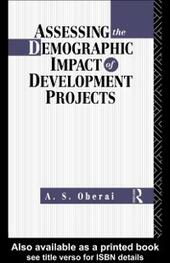 Assessing the Demographic Impact of Development Projects