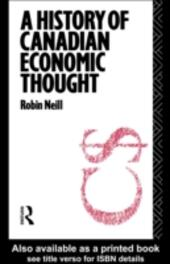History of Canadian Economic Thought