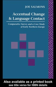 Ebook in inglese Accentual Change and Language Contact Salmons, Joe