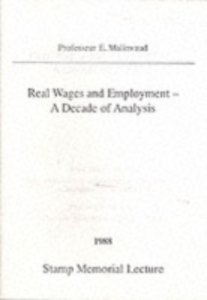 Ebook in inglese Real Wages and Employment Drobny, Andres