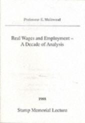 Real Wages and Employment