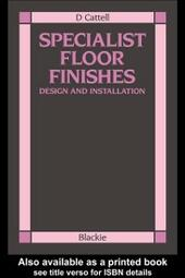 Specialist Floor Finishes