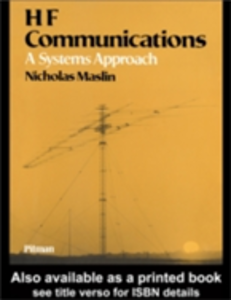 Ebook in inglese HF Communications Maslin, Nicholas M
