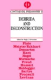 Derrida and Deconstruction