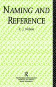 Ebook in inglese Naming and Reference Nelson, R.J.